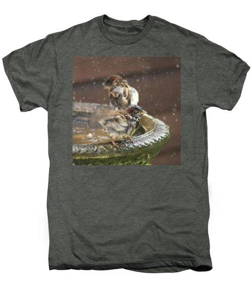 Pass The Towel Please: A House Sparrow Men's Premium T-Shirt