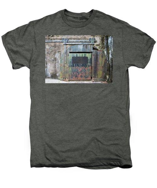 Rolling Door To The Bunker Men's Premium T-Shirt