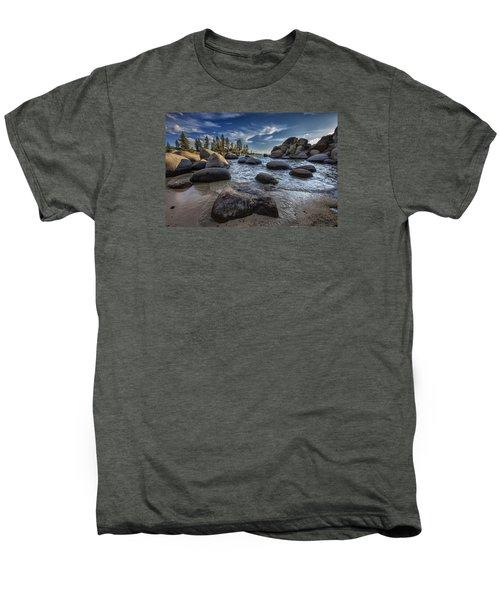 Sand Harbor II Men's Premium T-Shirt