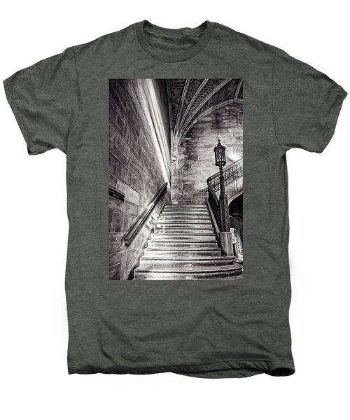 Stairs Of The Past Men's Premium T-Shirt by CJ Schmit
