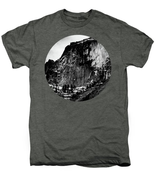 The Great Wall, Black And White Men's Premium T-Shirt by Adam Morsa