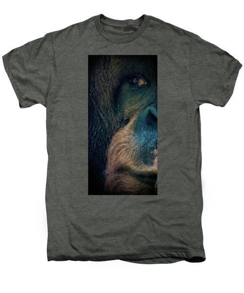 The Shy Orangutan Men's Premium T-Shirt