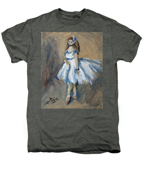 The Truth Lies Between Aguste Renoir And Marlene Dumas Men's Premium T-Shirt