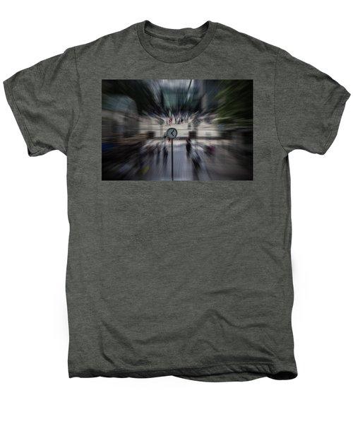 Time Traveller Men's Premium T-Shirt by Martin Newman
