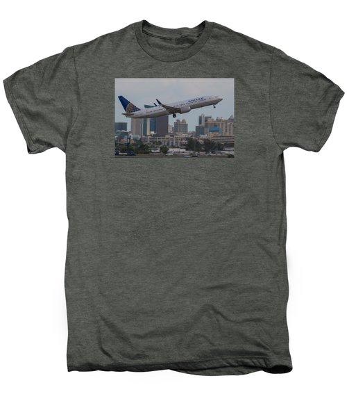 United Airlinea Men's Premium T-Shirt