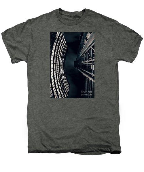 Vertigo I Men's Premium T-Shirt by Jasna Buncic