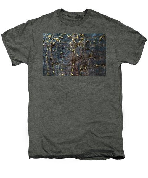 Men's Premium T-Shirt featuring the photograph Vines On Rock, Bhimbetka, 2016 by Hitendra SINKAR