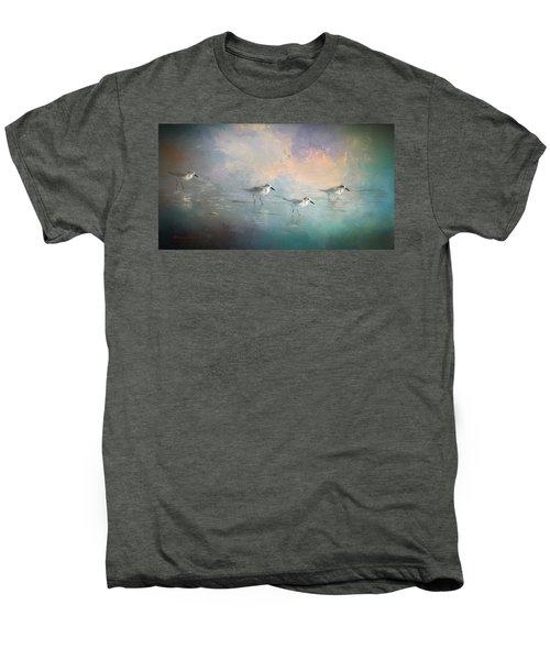 Walking Into The Sunset Men's Premium T-Shirt