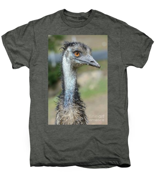 Emu 2 Men's Premium T-Shirt by Werner Padarin