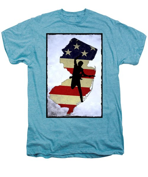 Born In New Jersey Men's Premium T-Shirt by Bill Cannon