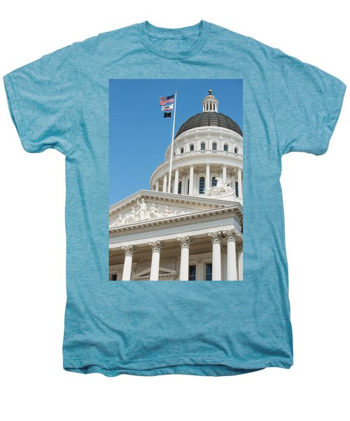 California State Capitol In Sacramento Men's Premium T-Shirt