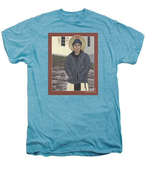 Holy World Evangelist Thomas Merton 267 Men's Premium T-Shirt