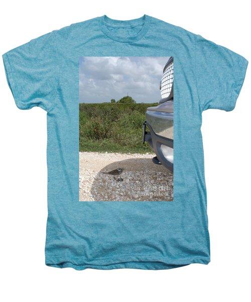 Killdeer Defending Nest Men's Premium T-Shirt