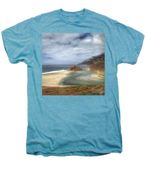 Little Sur River In Big Sur Men's Premium T-Shirt