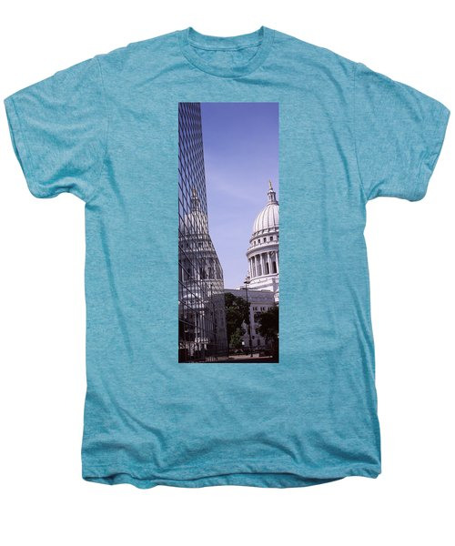 Low Angle View Of A Government Men's Premium T-Shirt by Panoramic Images