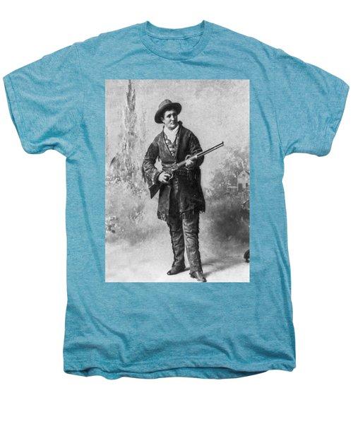 Portrait Of Calamity Jane Men's Premium T-Shirt