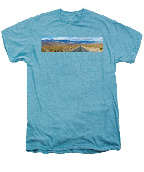 Road Passing Through A Desert, Death Men's Premium T-Shirt