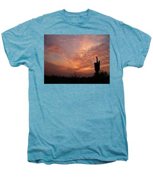Saguaro Sunset Men's Premium T-Shirt