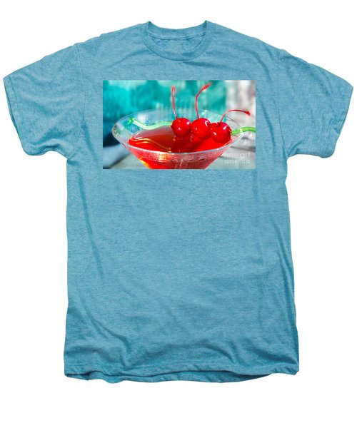 Shirley Temple Drink Men's Premium T-Shirt by Iris Richardson