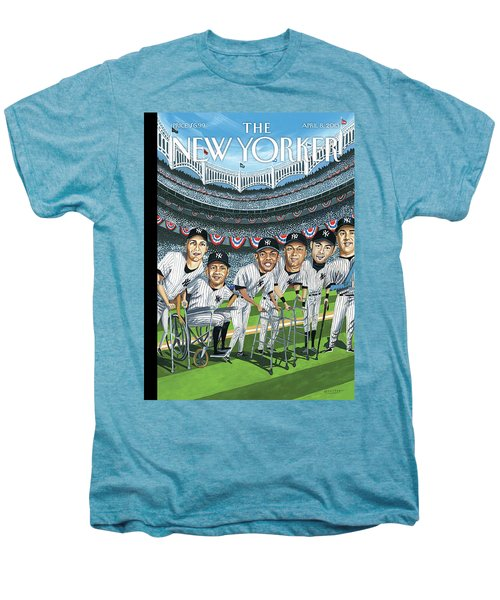New Yorker April 8th, 2013 Men's Premium T-Shirt