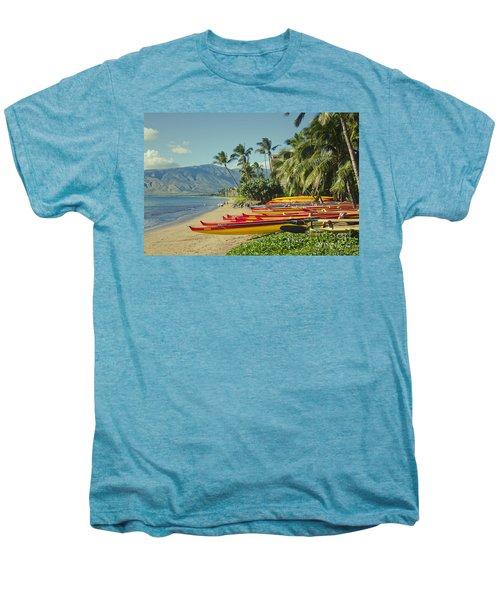 Kenolio Beach Sugar Beach Kihei Maui Hawaii  Men's Premium T-Shirt