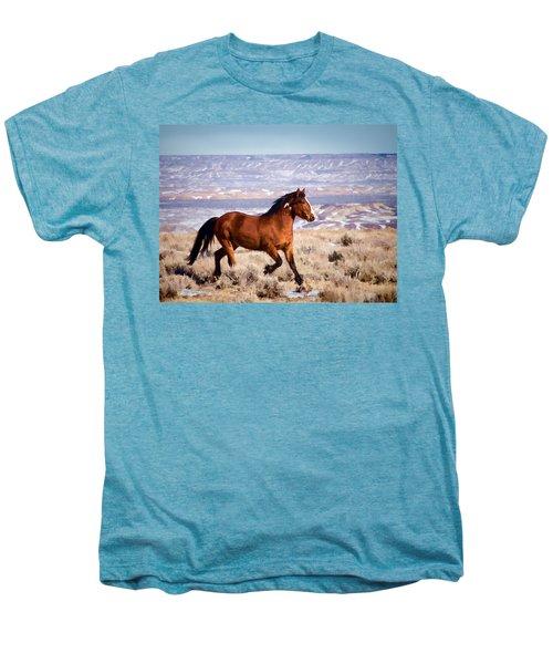 Eagle - Wild Horse Stallion Men's Premium T-Shirt