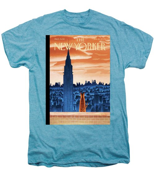 New Yorker January 12th, 2009 Men's Premium T-Shirt