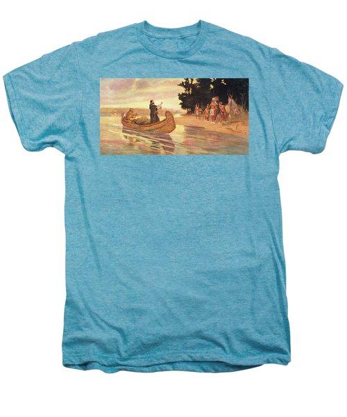 1600s 1600s Father Jacques Marquette Men's Premium T-Shirt