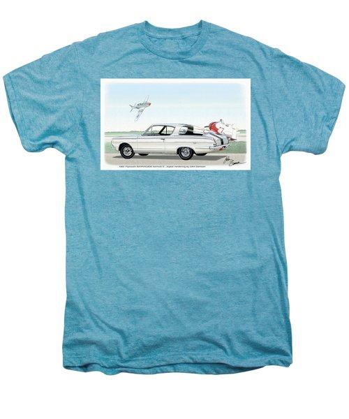 1965 Barracuda  Classic Plymouth Muscle Car Men's Premium T-Shirt