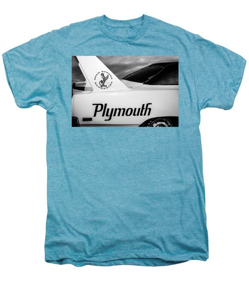 1970 Plymouth Superbird Emblem -0520bw Men's Premium T-Shirt
