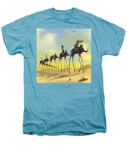 On The Move Men's Premium T-Shirt by Mike McGlothlen