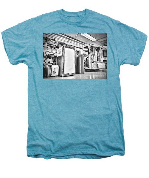Sitting At The Counter Men's Premium T-Shirt