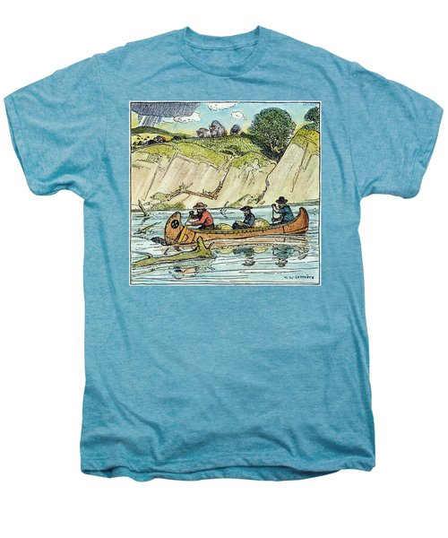 Father Jacques Marquette Men's Premium T-Shirt
