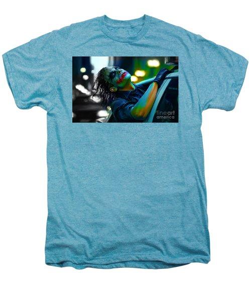 Heath Ledger Men's Premium T-Shirt by Marvin Blaine