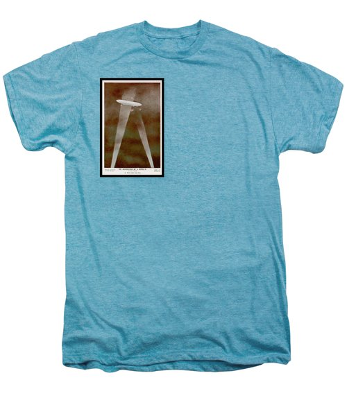 American Beaver Swimming Men's Premium T-Shirt by Yva Momatiuk John Eastcott