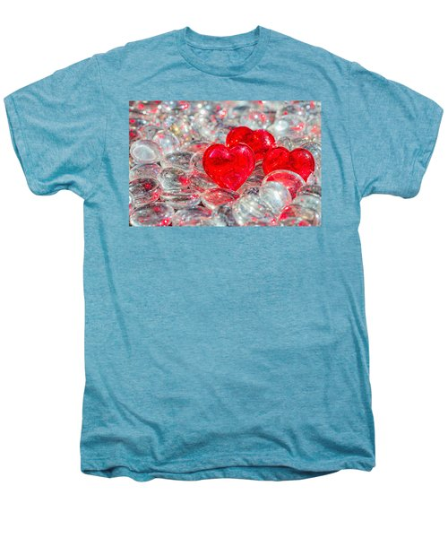 Crystal Heart Men's Premium T-Shirt