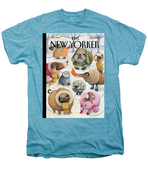 New Yorker February 8th, 2010 Men's Premium T-Shirt