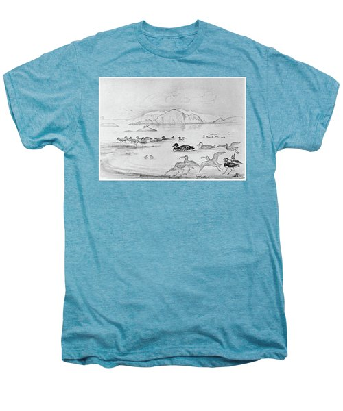 Blackburn Birds, 1895 Men's Premium T-Shirt