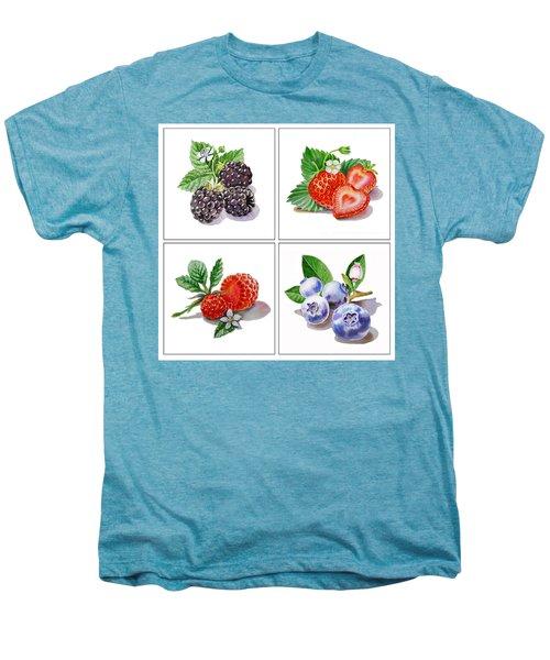 Farmers Market Delight  Men's Premium T-Shirt