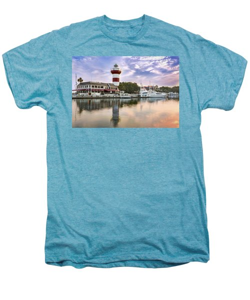 Lighthouse On Hilton Head Island Men's Premium T-Shirt