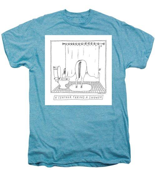 A Centaur Taking A Shower -- The Horse's Rear End Men's Premium T-Shirt