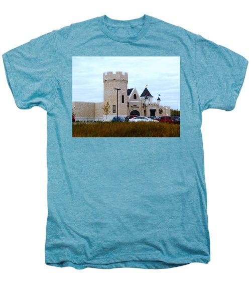 A Cheese Castle Men's Premium T-Shirt by Kay Novy