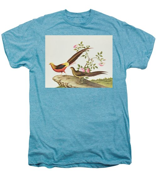 A Golden Pheasant Men's Premium T-Shirt by Chinese School