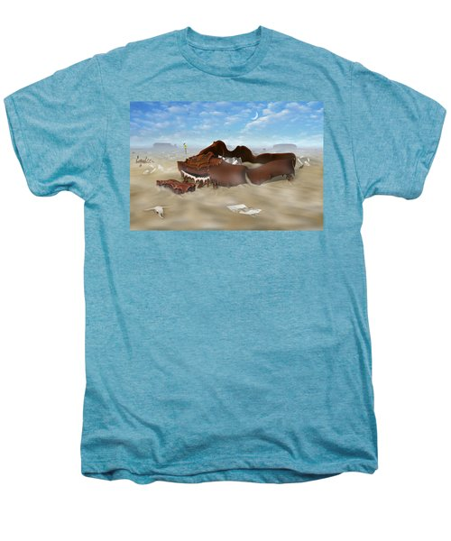 A Slow Death In Piano Valley Men's Premium T-Shirt