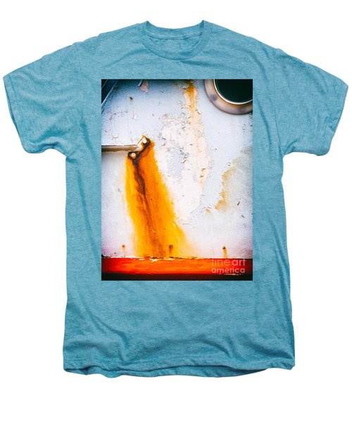 Men's Premium T-Shirt featuring the photograph Abstract Boat Detail by Silvia Ganora