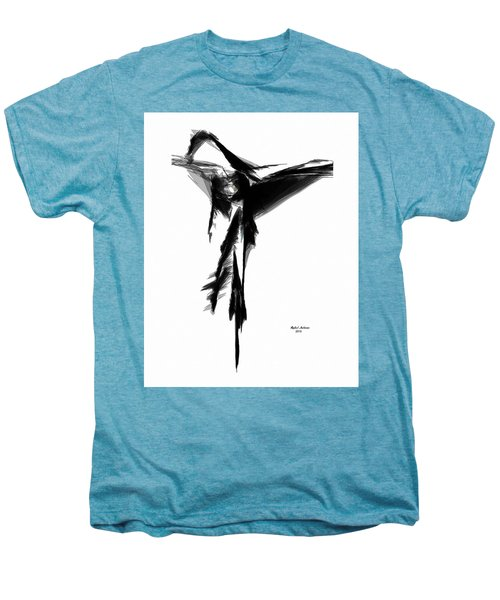 Abstract Flamenco Men's Premium T-Shirt