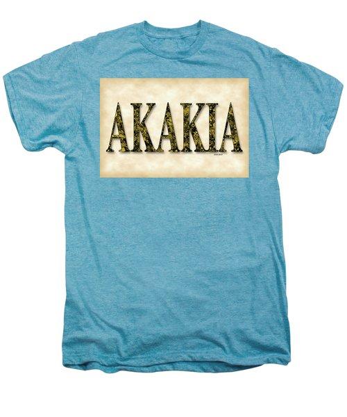 Acacia - Parchment Men's Premium T-Shirt by Stephen Younts