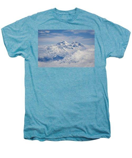Aerial View Of Mount Everest Men's Premium T-Shirt