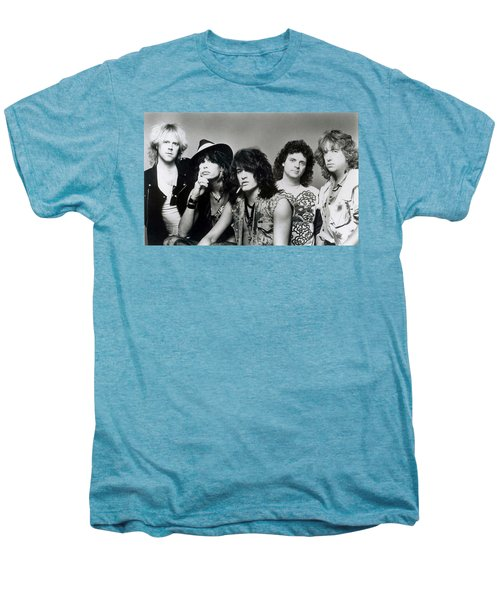 Aerosmith - What It Takes 1980s Men's Premium T-Shirt by Epic Rights