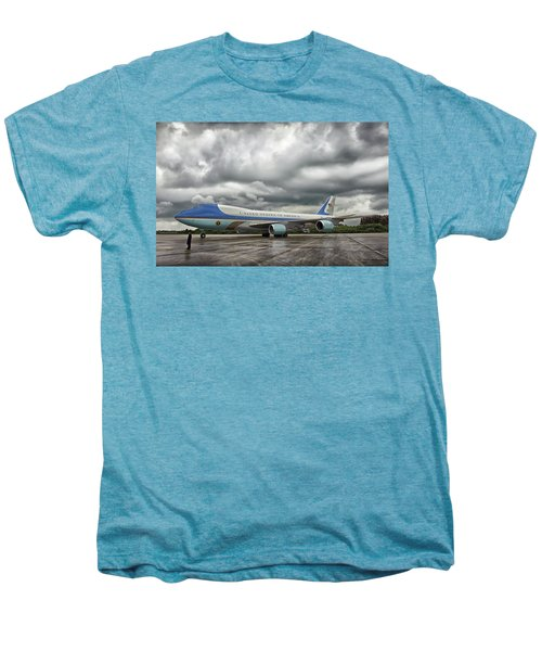 Air Force One Men's Premium T-Shirt by Mountain Dreams